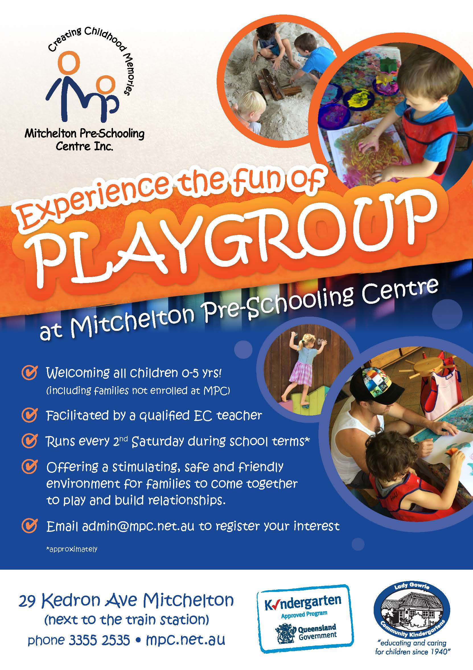 playgroup information